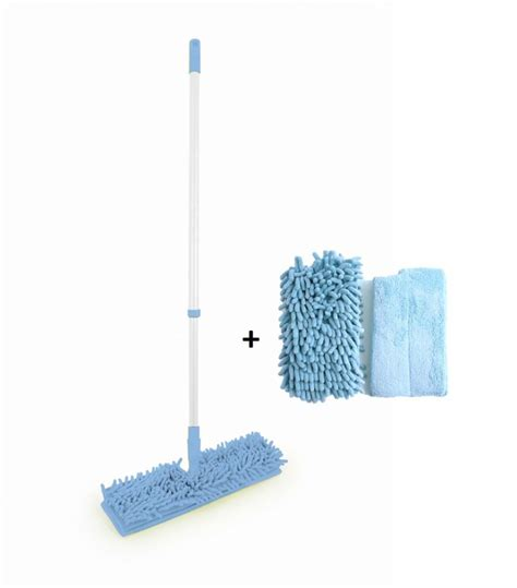 microfibre floor mop cleaner sweeper wooden laminate tile mop including refill head 100925