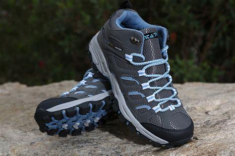 Sepatu Snta 430 Grey Blue Jual Sepatu Tracking jual sepatu gunung wanita snta 601 grey blue original igitz store