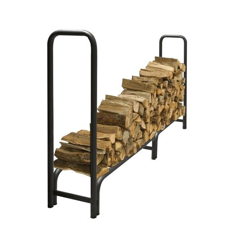 Hearthside Wood Rack by Pleasant Hearth 8 Ft Heavy Duty Firewood Rack With 25