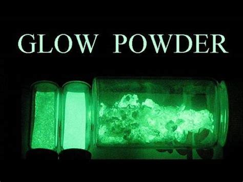 glow in the powder into paint how to make glow in the powder
