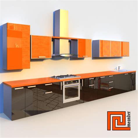 3 Kitchen Set by Kitchen Set C4d