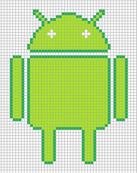android pixel android by hama on deviantart
