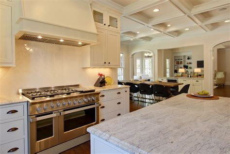Colonial Granite With White Cabinets by Colonial Granite Kitchen With