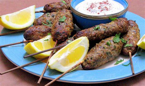 Lamb Kofta Kebabs Recipe Dishmaps | lamb kofta kebabs recipe dishmaps