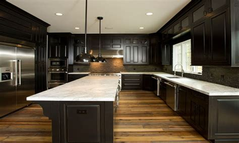 dark kitchen cabinets with dark wood floors wood floors in the kitchen light wood floors with dark