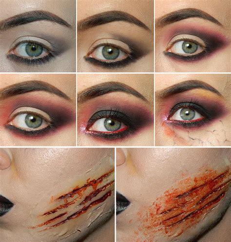 zombie makeup tutorial eyeshadow zombie makeup tutorial for halloween fashionisers