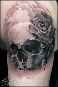 off the map tattoo tattoos evil skull and rose