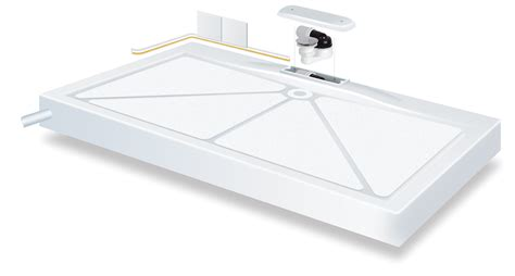 Low Access Shower Trays by Mendip