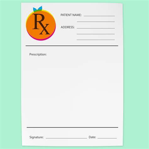 designer pad rx pads logo design redlands print design