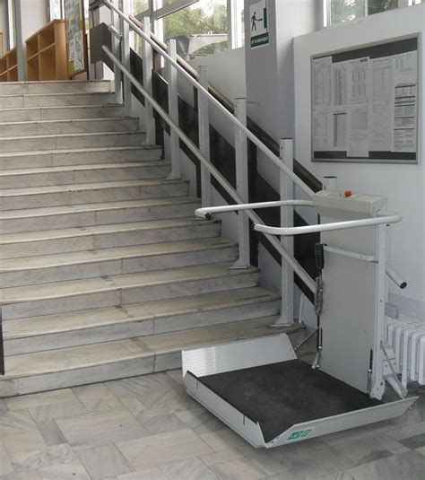 Chair Lift For Stairs by S7 Sr Inclined Platform Stair Lift Gt Staircase Wheelchair Access