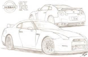 gtr coloring pages 2012 nissan gt r by tougedrifting85 on deviantart