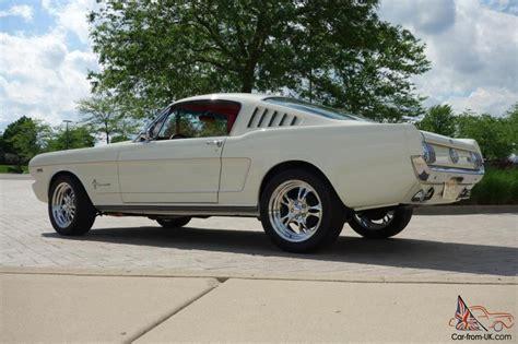 v8 mustang horsepower 1965 ford mustang 2 2 fastback resto mod 408 v8 500