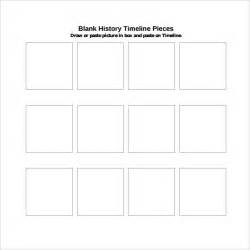 Free History Timeline Template by Sle Blank Timeline Template 4 Free Documents