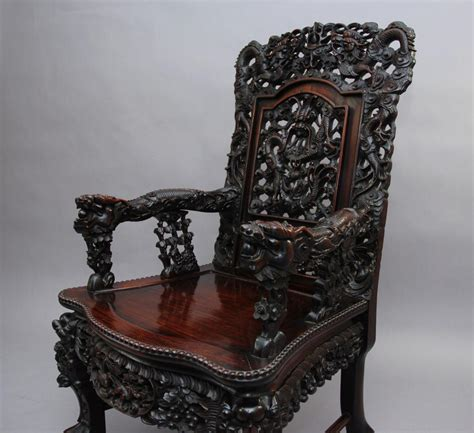 carved armchair italian carved walnut barrelback armchair mid 19th c