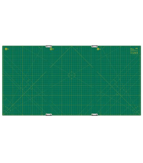 Gridded Matting by Olfa 174 Gridded Cutting Mat Set 35 Quot X70 Quot With Jo