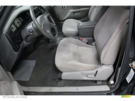 2001 Toyota Tacoma Interior by Charcoal Interior 2001 Toyota Tacoma Regular Cab 4x4 Photo