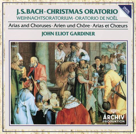 king bach christmas bach christmas oratorio arias and choruses by english