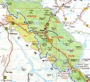 map of jasper 10 most beautiful places to see photograph in jasper