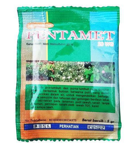 Obat Pengendali Gulma Padi obat pertanian pengendali gulma herbisida pentamet 20 wg