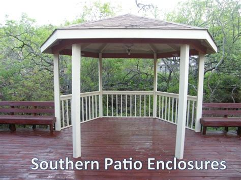 southern patio gazebo clear vinyl patio enclosure weather curtains carpenter tx gazebo traditional