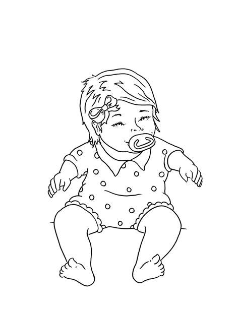 desenho de bebe fofinho  colorir tudodesenhos