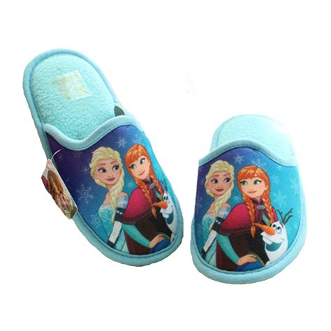 toddler girl house slippers anan elsa shoes girls slippers home cartoon winter shoes