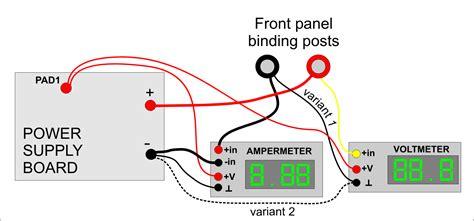 digital dc voltmeter wiring diagram get free image about