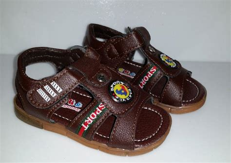 baby boy sandals size 5 new toddler boys brown black light up sandals size 5 6 7
