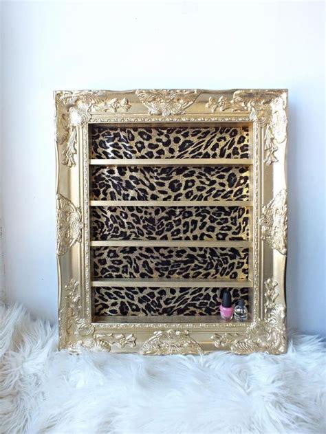 Frame Kacamata 2378 Leopard 1 gold leopard baroque shelving frame by daintycreations on etsy nails salon