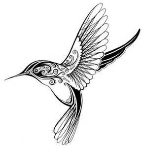 hummingbird tattoo drawing ink