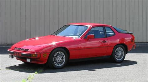 4 door porsche red 1982 porsche 924 turbo 77 900 miles red 2 door 4 cylinder