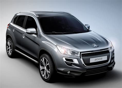 Peugeot 308 Crossover 2012 Peugeot 4008 Crossover Revealed To Debut In Geneva
