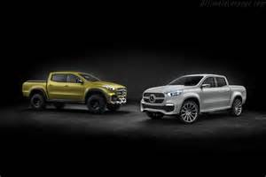Mercedes And Mercedes Mercedes X Class Concept