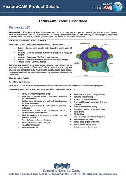 FeatureCAM – CNC Featurecam Manual