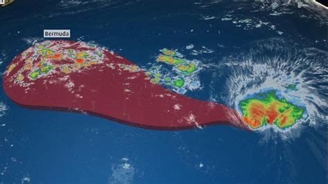 hurricane florence   uncertain threat  bermuda