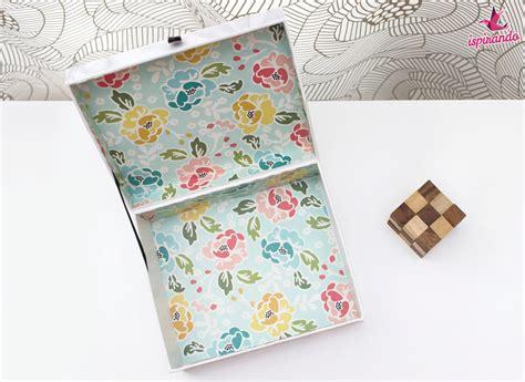come rivestire una come rivestire una scatola con carta o tessuto ispirando