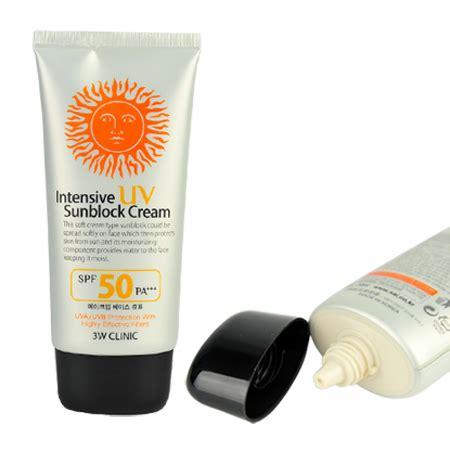 3w Clinic Sunblock Spf 50 kem chống nắng 3w clinic intensive uv sunblock spf 50 pa