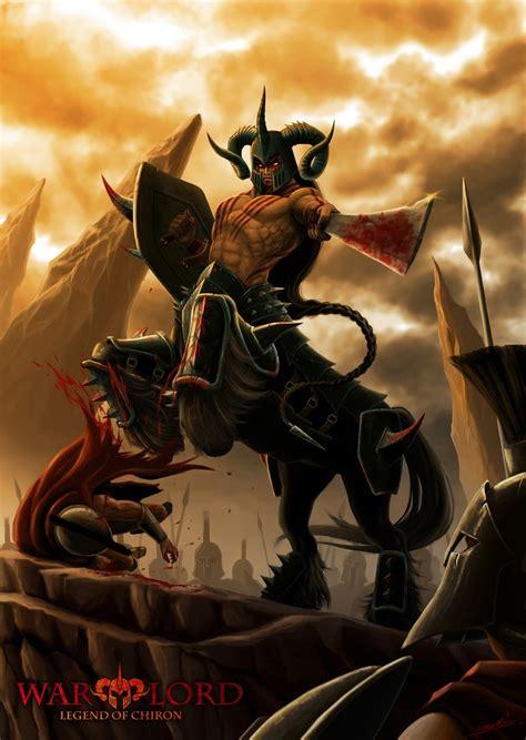 Junk Unicorn Pesanan Ivan Fjb warlord legend of chiron by 3nok gloranthan centaurs minotaurs beastfolk legends