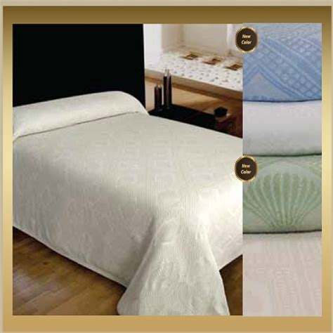 polyester coverlets hotel nursing home avalon jacquard bedspreads 65 cotton