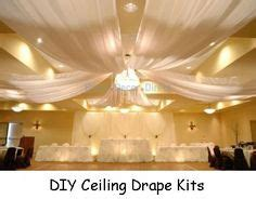 Diy Ceiling Draping by Wedding Ceiling On Wedding Ceiling Decorations