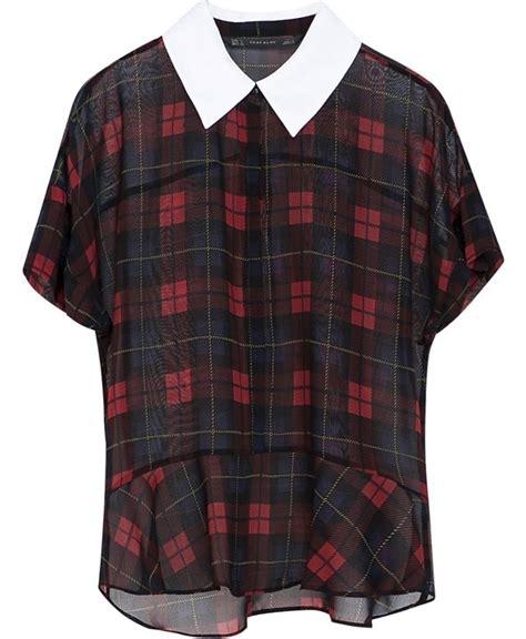 Blouse Tartan Top tartan blouse 9 top on trend tartan buys for your fall