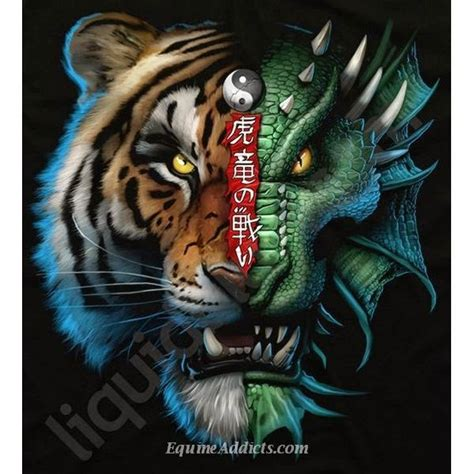 tattoo dragon vs tiger dragon vs tiger crusox personal pinterest tigers