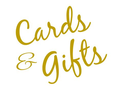 Free Printable Cards And Gifts Sign
