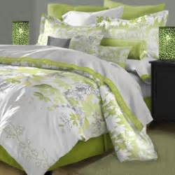 Green White Toile King Quilt Set French Country Chic Ticking » Ideas Home Design