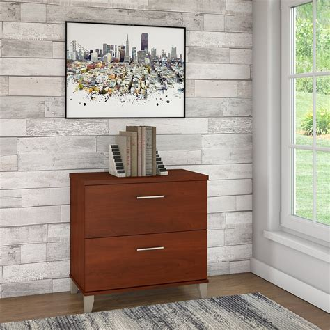 bush somerset lateral file cabinet bush furniture somerset lateral file cabinet in hansen