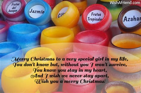 merry christmas    special christmas message  girlfriend