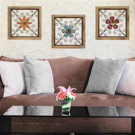 stratton home decor stratton home decor stratton home decor floral square wall
