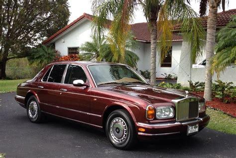rolls royce silver seraph  door sedan