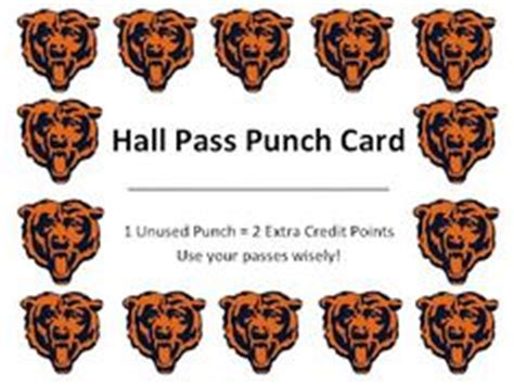 bathroom pass punch card 1000 images about hall passes on pinterest