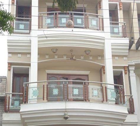 front railing front glass railing manufacturer  delhi